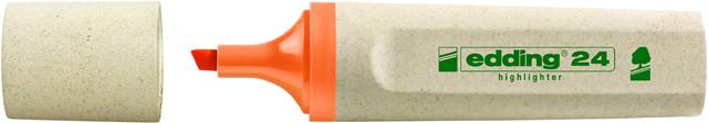 Textmarker 24, nachfüllbar, Keilspitze, 2 - 5 mm, Schreibf.: orange