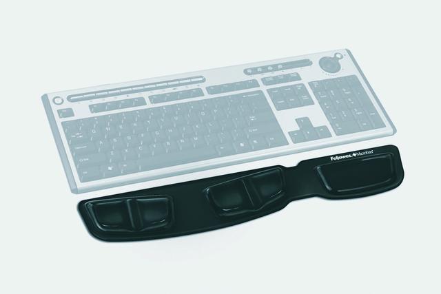 Handgelenkauflage Health-V™ Crystals™, Gel, für Tastatur, schwarz