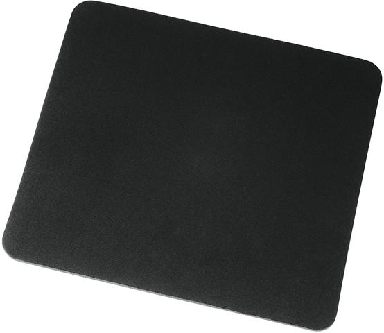 Mauspad, Jersey/Ethylenvinylacetat, 22,3 x 18,3 cm, 6 mm, schwarz