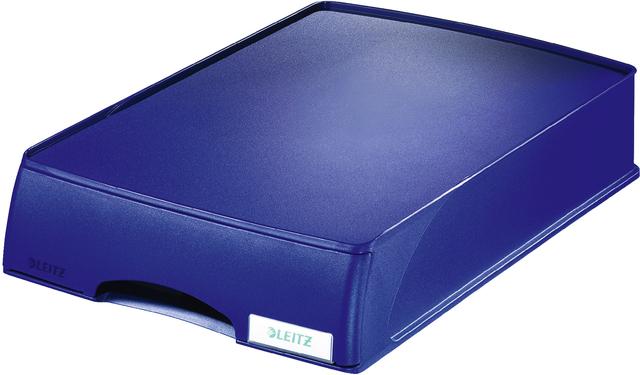 Schubladenbox Plus, m.1 geschl. Schublade, A4, 255x357x70mm, blau