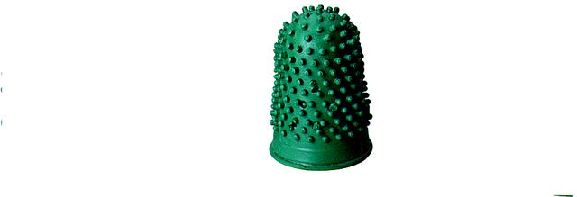 Blattwender, Kautschuk, Größe 3, Ø: 19 mm, dunkelgrün