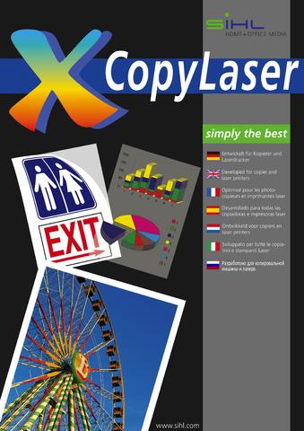 Laser-/Kopierfolie 4319, A4, 0,1mm, farbl., klar