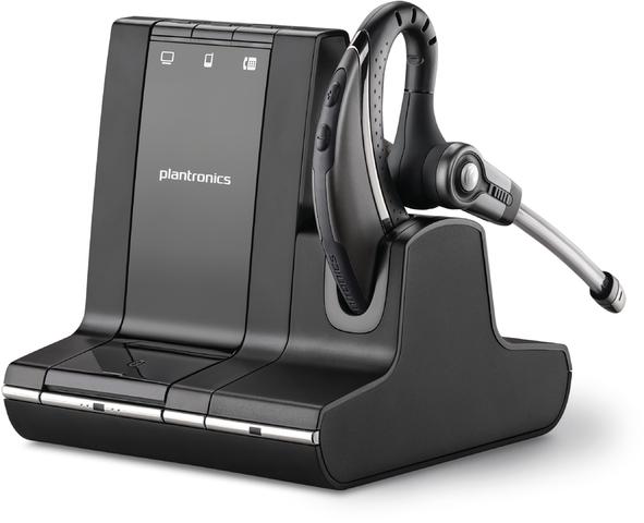 Headset, Savi® 700 W730, Ohrbügel, Mono, USB A/QD™, schwarz