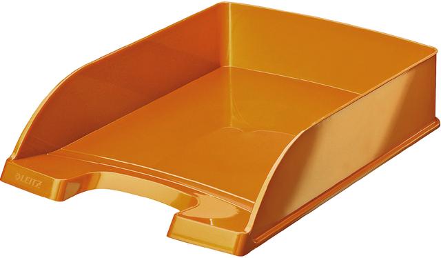 Briefkorb WOW, PS, A4, 255x357x70mm, orange, metallic