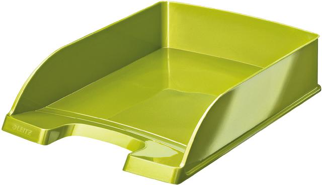 Briefkorb WOW, PS, A4, 255x357x70mm, grün, metallic