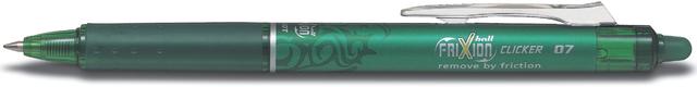 Tintenkuli FRIXION ball CLICKER BLRT-FR7, 0,4 mm, Schreibf.: grün
