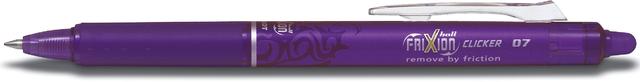 Tintenkuli FRIXION ball CLICKER BLRT-FR7, 0,4 mm, Schreibf.: violett