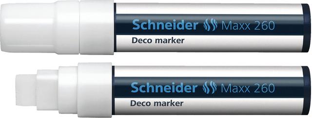 Kreidemarker Deco-Marker MAXX 260, Ksp., 2-15mm, Schreibf.: weiß
