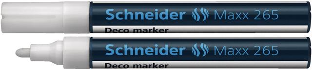 Kreidemarker Deco-Marker MAXX 265, Rsp., 1-3mm, Schreibf.: weiß