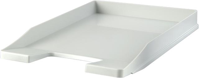 Briefkorb JUNIOR, PS, C4, 255 x 348 x 38 mm, lichtgrau