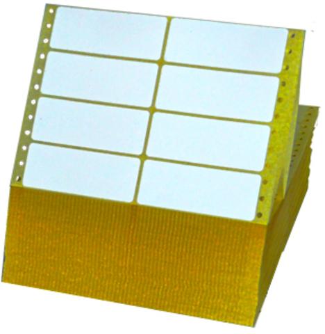 Tabellieretikett, Matrix, selbstklebend, 2bahnig, 89x36mm, weiß