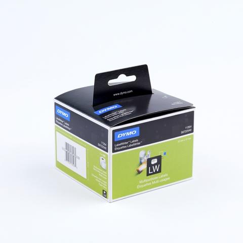 Etikett LabelWriter, sk, ablösbar, Papier, 57x32mm, weiß