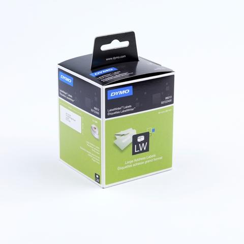 Etikett LabelWriter, Adressetikett, Papier, 89 x 36 mm, weiß