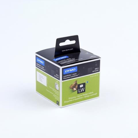 Etikett LabelWriter, Versandetikett, perm., Pap., 101x54mm, weiß