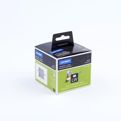 Etikett LabelWriter, Diskettenetikett, perm., Pap., 54x70mm, weiß