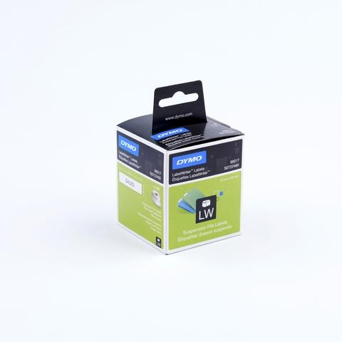 Etikett LabelWriter, Hängeablage, Papier, 50 x 12 mm, weiß