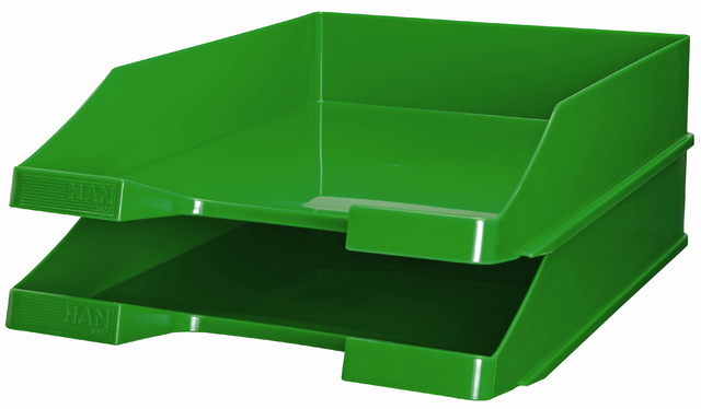 Briefkorb, PS, C4, 255 x 348 x 65 mm, grün