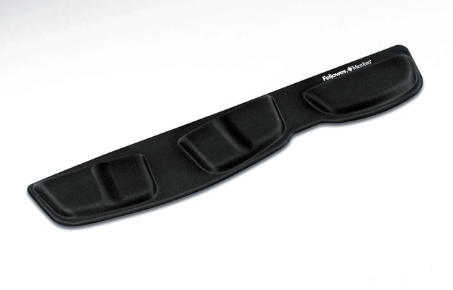 Handgelenkauflage Health-V™, f.Tast., 46,5x8,5cm, schwarz