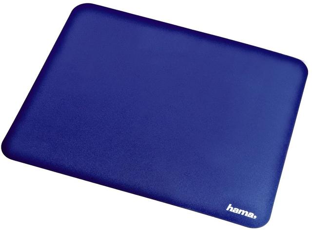 Mauspad, 22 x 18 cm, 0,5 mm, blau