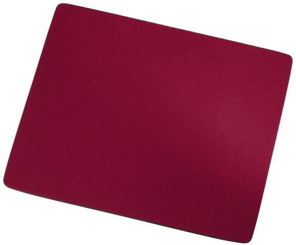 Mauspad, Jersey/Ethylenvinylacetat, 22,3 x 18,3 cm, 6 mm, rot