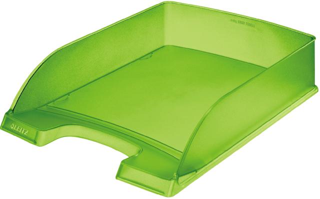 Briefkorb Standard Plus, PS, A4, 255 x 357 x 70 mm, grün, gefrostet