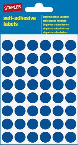 Markierungspunkt, auf Bogen, sk, Papier, Ø: 12 mm, blau