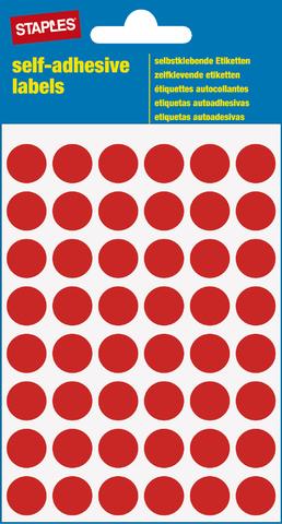 Markierungspunkt, auf Bogen, sk, Papier, Ø: 12 mm, rot
