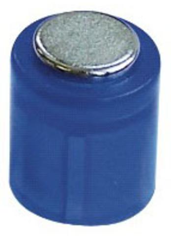 Magnet POWER, Zylinder, rund, Ø: 14 mm, Haftkraft: 1.900 g, blau
