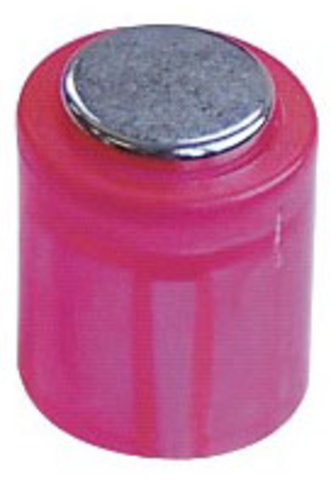 Magnet POWER, Zylinder, rund, Ø: 14 mm, Haftkraft: 1.900 g, rosa