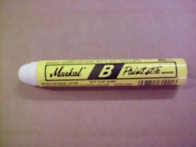 Ölmarker Paintstik® Typ B, Rsp., Schreibf.: weiß