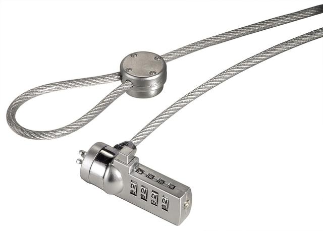 Zahlenschloss Light, Kabel-Ø: 4 mm, Kabellänge: 1,8 m