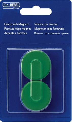 Magnet, rund, Ø: 34 mm, grün