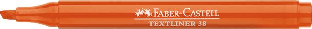 Textmarker TEXTLINER 38, Schaft: in Schreibfarbe, Schreibf.: orange