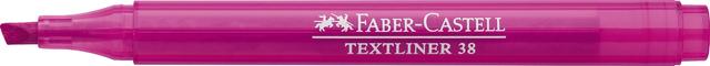 Textmarker TEXTLINER 38, Schaft: in Schreibfarbe, Schreibf.: rosa