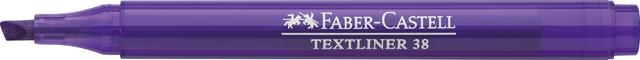 Textmarker TEXTLINER 38, Schaft: in Schreibfarbe, Schreibf.: lila