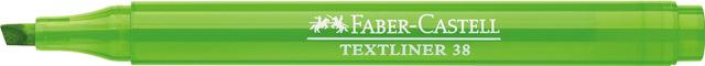 Textmarker TEXTLINER 38, Schaft: in Schreibfarbe, Schreibf.: grün