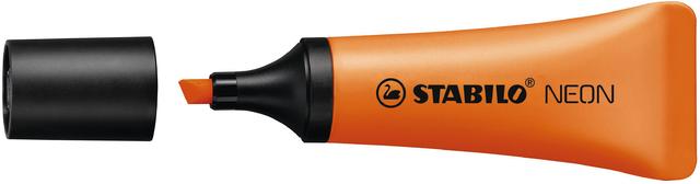 Textmarker NEON, Keilspitze, 2 - 5 mm, Schreibf.: orange