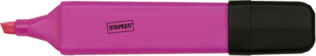 Textmarker, flach, Keilspitze, 1 - 5 mm, Schreibf.: pink