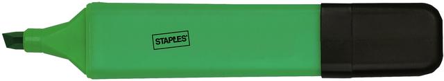 Textmarker, flach, Keilspitze, 1 - 5 mm, Schreibf.: grün