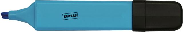 Textmarker, flach, Keilspitze, 1 - 5 mm, Schreibf.: blau