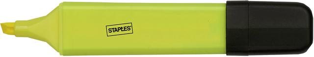 Textmarker, flach, Keilspitze, 1 - 5 mm, Schreibf.: gelb