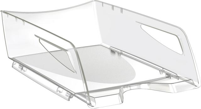 Briefkorb CepPro, Maxi, PS, 270 x 386 x 115 mm, farblos, transparent