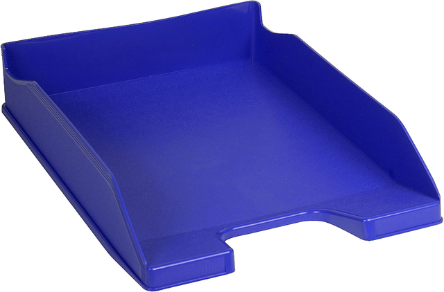 Briefkorb COMBO 2, PS, A4+, 255 x 347 x 65 mm, kobaltblau