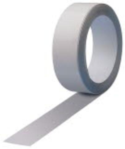 Wandleiste Ferroband, magnetisch, sk, flexibel, 35 mm x 2.500 cm, weiß