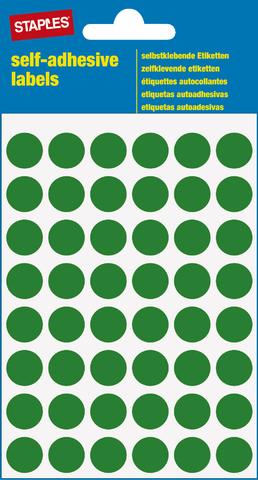 Markierungspunkt, auf Bogen, sk, Papier, Ø: 12 mm, grün