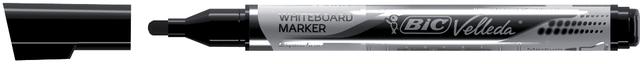 Boardmarker Velleda®, Rundspitze, M, Schreibf.: schwarz