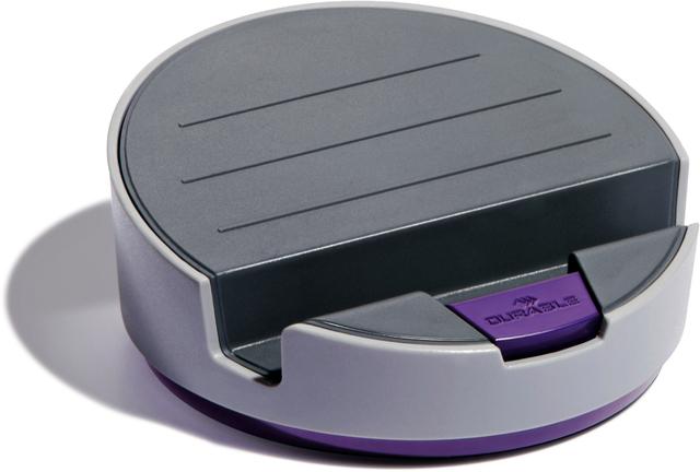 Tablet-Ständer VARICOLOR® SMART OFFICE, 2fach neigbar, grau/lila
