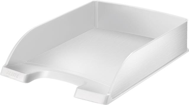 Briefkorb Style, Polystyrol, A4, 255 x 357 x 70 mm, arktikweiß