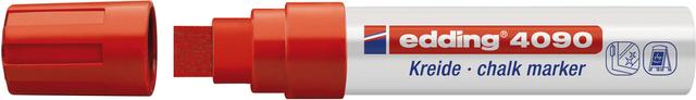 Kreidemarker, 4090, Keilspitze, 4 - 15 mm, Schreibf.: rot