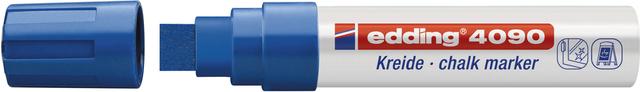 Kreidemarker, 4090, Keilspitze, 4 - 15 mm, Schreibf.: blau